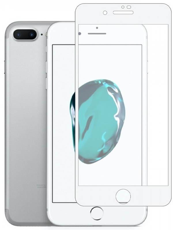 Защитное стекло Vmax для APPLE iPhone 7 / 8 3D Edge Full Glue White Frame V-042086