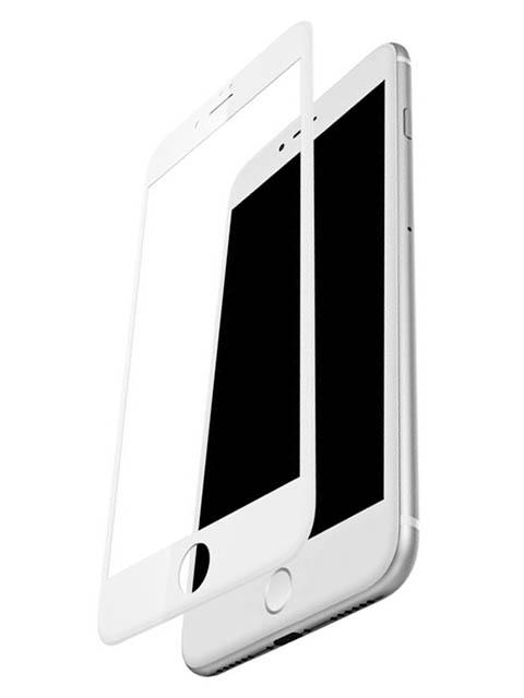 Защитное стекло Vmax для APPLE iPhone 7 / 8 Plus 3D Edge Full Glue White Frame V-042093