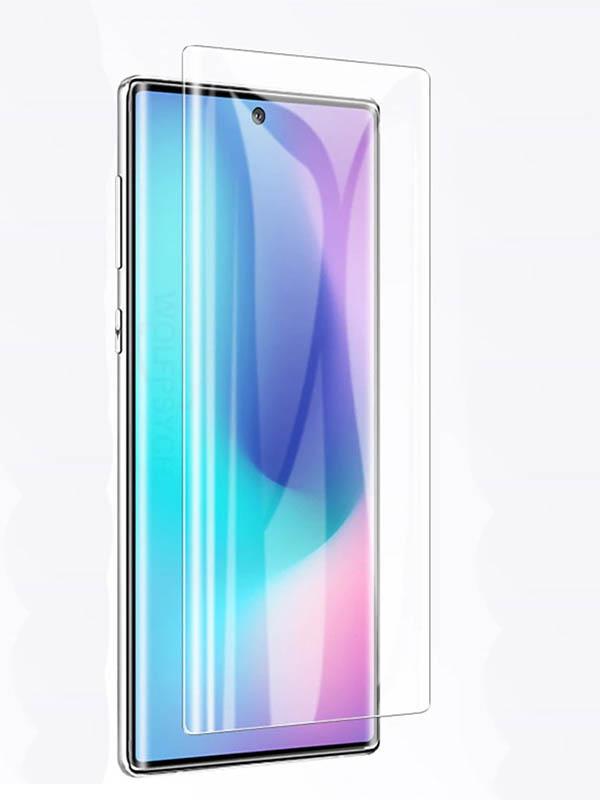 Защитное стекло Vmax для Samsung Galaxy Note 10 3D Hot Bending Glass Edge Glue V-042062