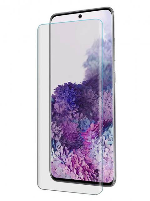 Защитное стекло Vmax для Samsung Galaxy S20 Ultra 3D Hot Bending Glass Edge Glue V-042024