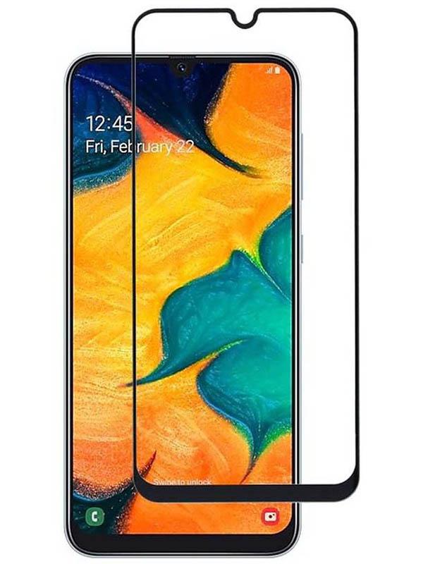 Защитное стекло Mietubl для Samsung Galaxy A30 / A50 A20 2.5D Full Glue Black M-835040
