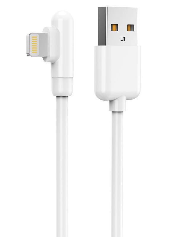 Фото - Аксессуар Jellico KDS-130 USB - Lightning 1m White аксессуар jellico kds 65 usb lightning 1m white