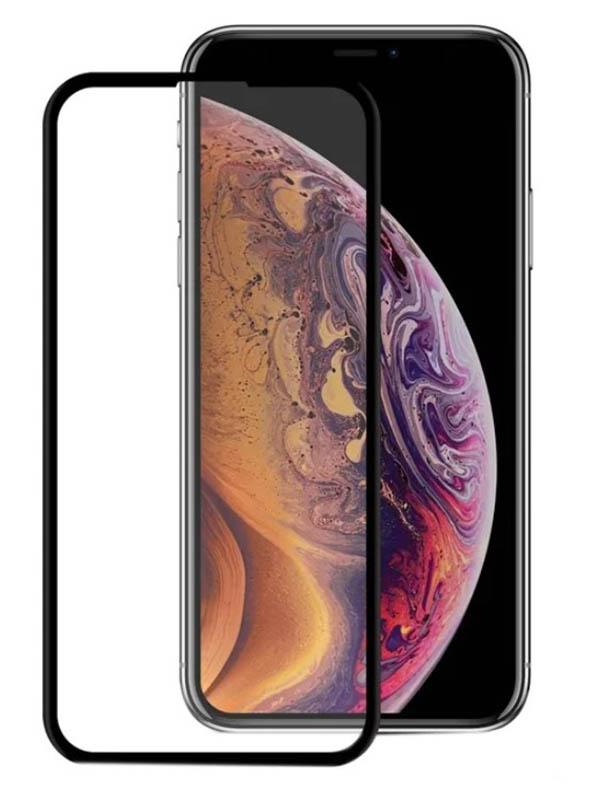 Защитное стекло Mietubl для APPLE iPhone XS Max / 11 Pro Super D Full Glue Black M-637863