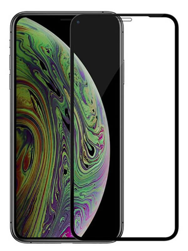 Защитное стекло Mietubl для APPLE iPhone XS Max 6.5 / 11 Pro 2.5D Full Glue Black M-835637