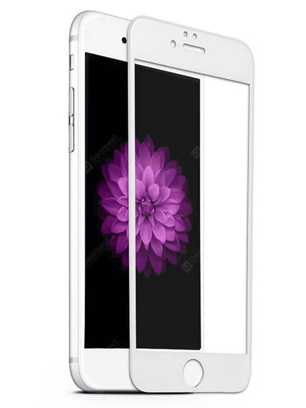 Защитное стекло Mietubl для APPLE iPhone 6 / 6S Plus 11D Full Glue White M-637603