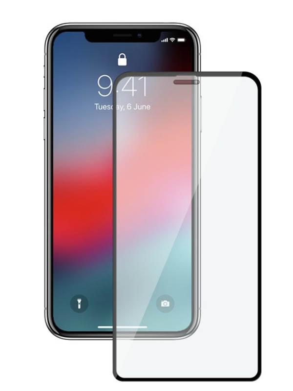 Защитное стекло Mietubl для APPLE iPhone XR 6.1 / 11 11D Full Glue Black M-595231