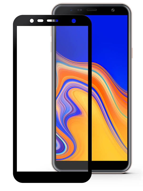 Защитное стекло Mietubl для Samsung Galaxy J4 Plus / J6 Plus/ Core A7 2018 A8+ J8 PMMA Matte Black M-531010