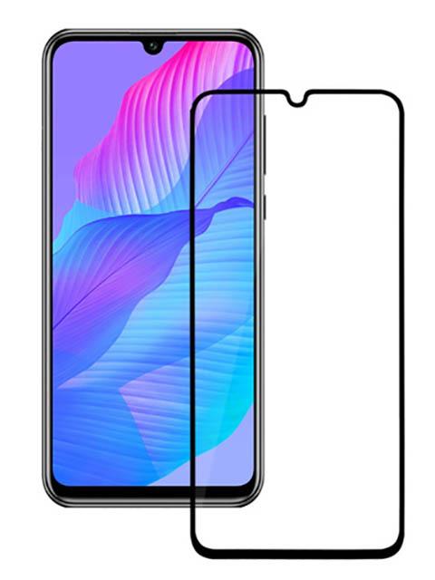 Защитное стекло Mietubl для Huawei Y8P/Y6P 2020 PMMA Black M-844615