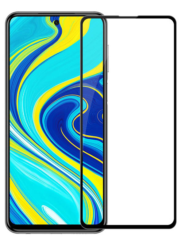 Защитное стекло Mietubl для Xiaomi Redmi K30 5G / Note 9 Pro Max 9S /XM Poco X2 11D Full Glue Black M-835965