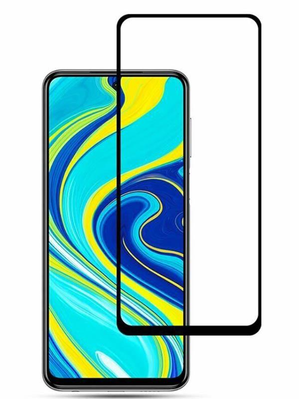 Защитное стекло Mietubl для Xiaomi Redmi Note 9S / 9 Pro Max PMMA Glossy Black M-844547
