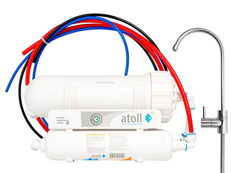 Фильтр для воды Atoll A-3500 STD Shuttle ATEFDR082