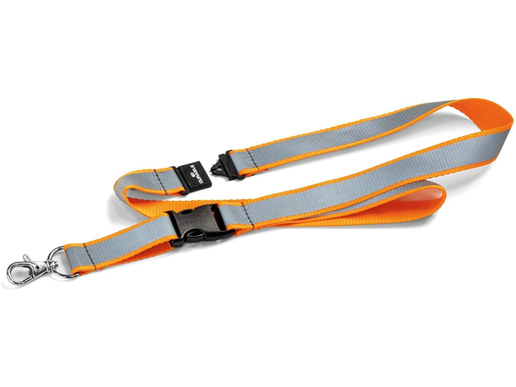 Держатель для бейджа Durable Orange 869209
