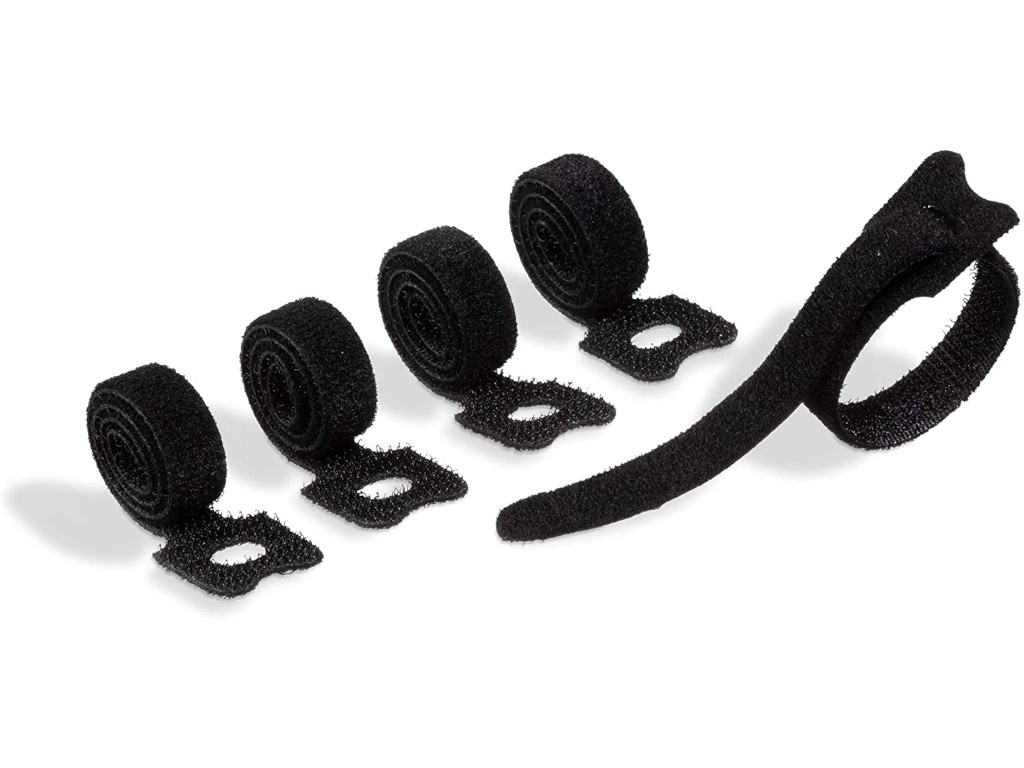 Фото - Лента на липучке для фиксации кабеля Durable Cavoline Grip Tie 200х10mm Black 503601 лента на липучке для фиксации кабеля durable cavoline grip 1000х20mm black 503201