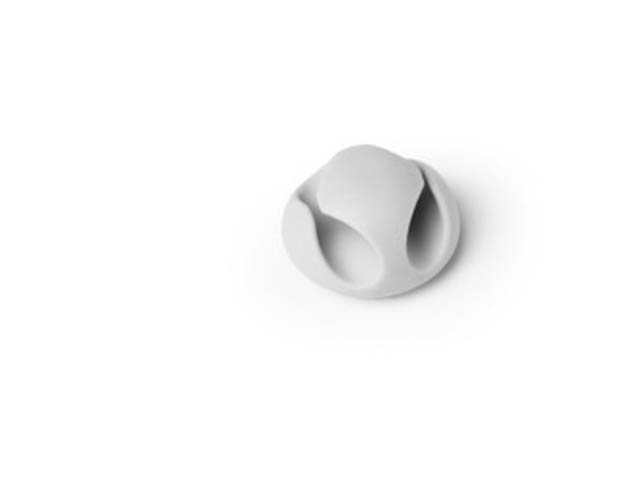 Фото - Фиксатор кабеля Durable Cavoline Clip 2 до 5mm Grey 503810 лента на липучке для фиксации кабеля durable cavoline grip 1000х20mm black 503201
