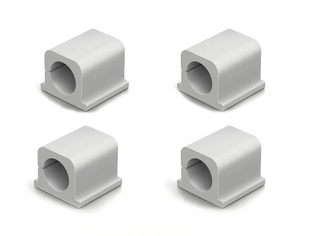 Фото - Фиксаторов для кабеля Durable Cavoline Clip Pro 2 до 12mm Anthracite 504310 лента на липучке для фиксации кабеля durable cavoline grip 1000х20mm black 503201