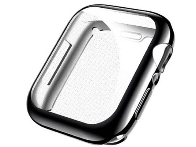 Аксессуар Чехол Usams для APPLE Watch 40mm US-BH485 TPU Full Protective Case Black IW485BH01 аксессуар usams us cc076 2 in 1 lightning apple watch