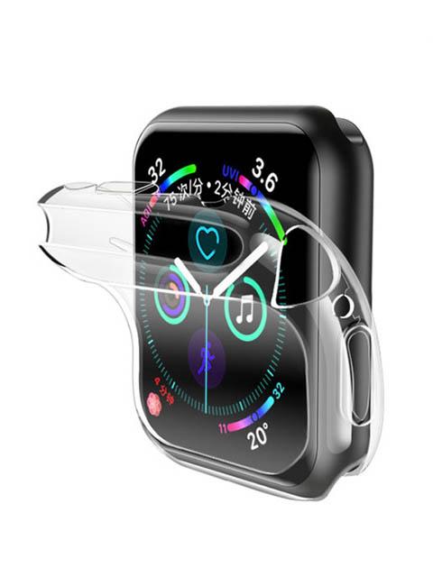 Аксессуар Чехол Usams для APPLE Watch 40mm US-BH485 TPU Full Protective Case Transparent IW485BH03 аксессуар usams us cc076 2 in 1 lightning apple watch