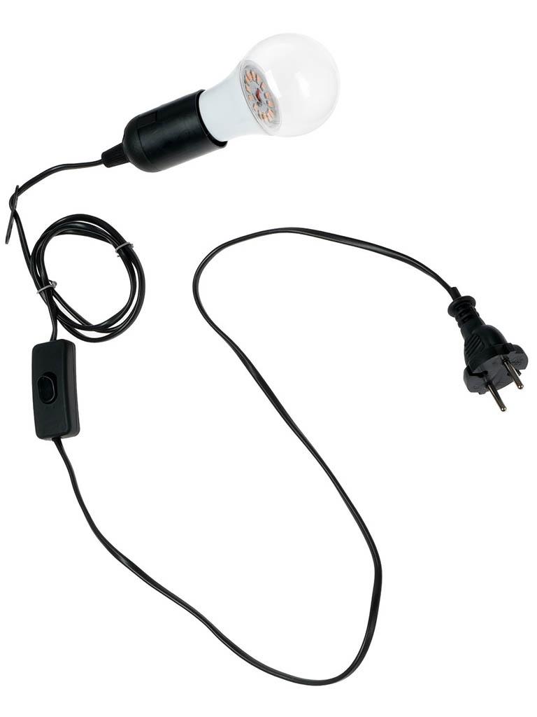 Светодиодный фитосветильник Luazon 9W 4789065
