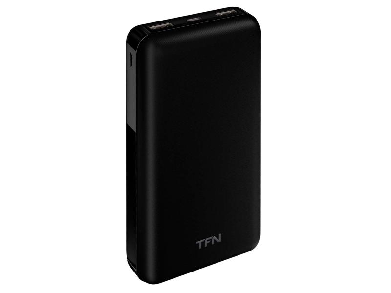 Внешний аккумулятор TFN Power Bank Basic Duo 20000mAh White TFN-PB-203-WH