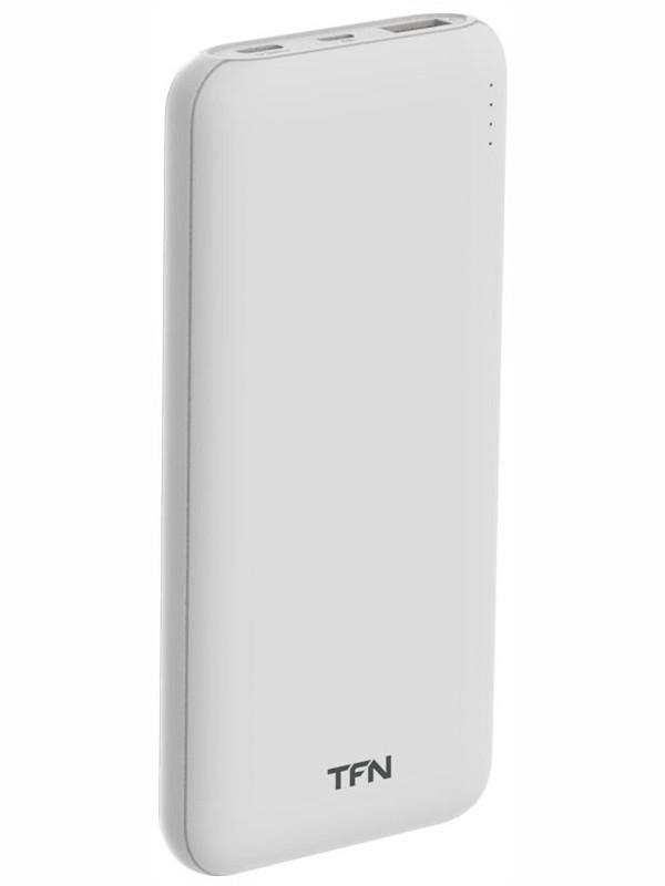 Внешний аккумулятор TFN Power Bank Ultra PD 10000mAh White TFN-PB-222-WH