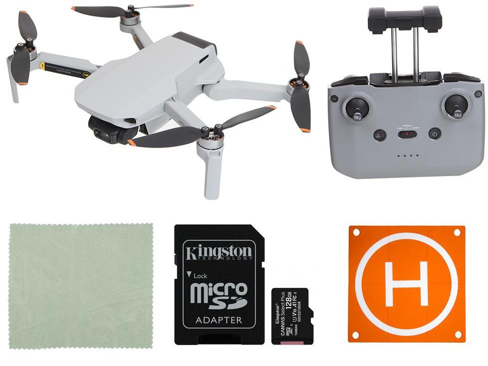 Квадрокоптер DJI Mavic Mini 2 Выгодный набор + серт. 200Р!!!