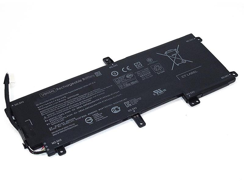 Аккумулятор Vbparts для HP Envy 15-AS 11.55V 52Wh 064449