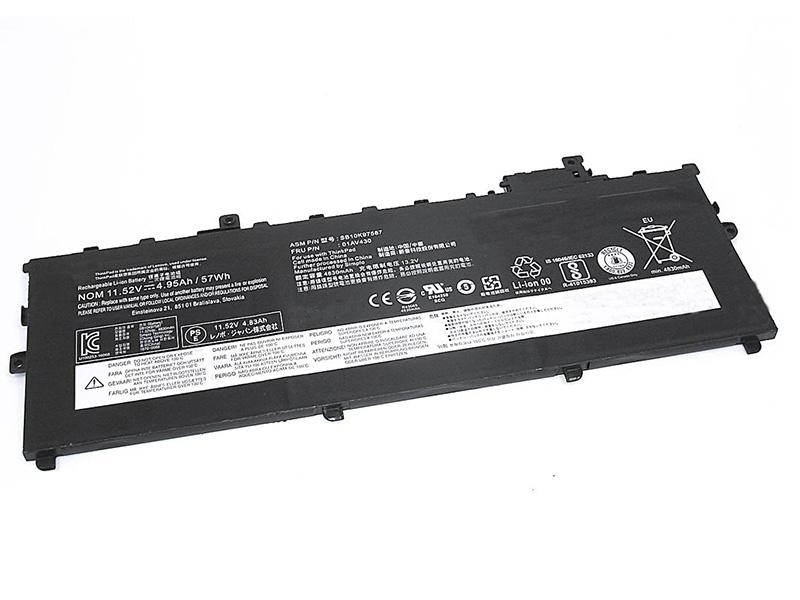 Аккумулятор Vbparts для Lenovo ThinkPad X1 Carbon Gen.5 11.52V 57Wh 062539