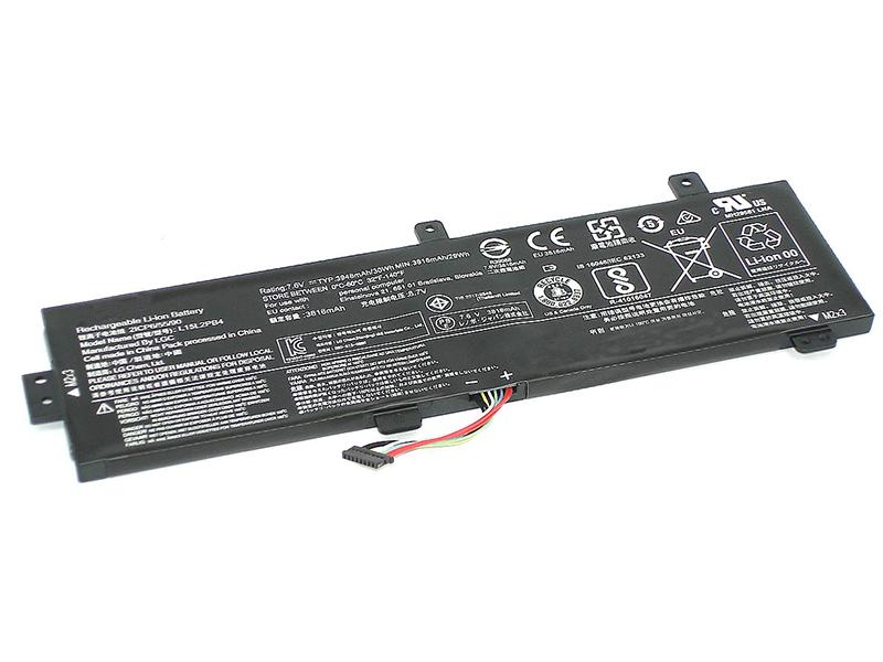 Аккумулятор Vbparts для Lenovo 310-15A 7.6V 4080mAh 058174