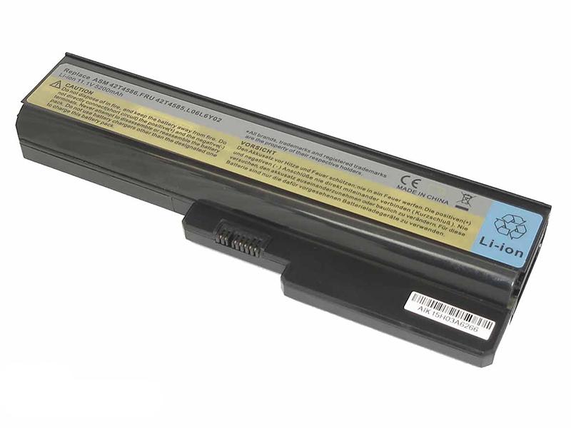 Аккумулятор Vbparts для Lenovo IdeaPad G430 / G450 11.1V 5200mAh OEM 012156