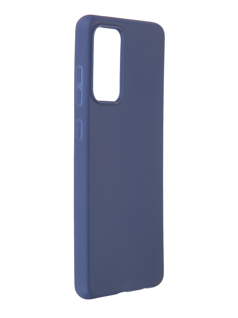 Чехол Brosco для Samsung Galaxy A72 Blue Matte SS-A72-COLOURFUL-BLUE