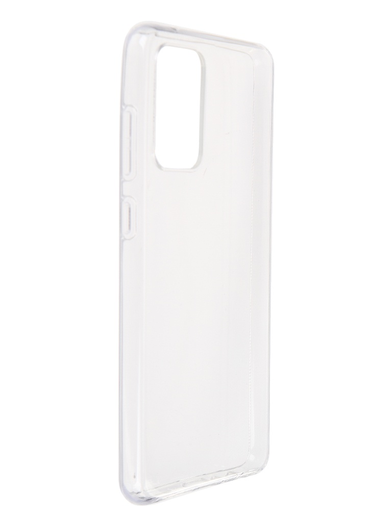 Чехол Brosco для Samsung Galaxy A72 Silicone Transparent SS-A72-TPU-TRANSPARENT