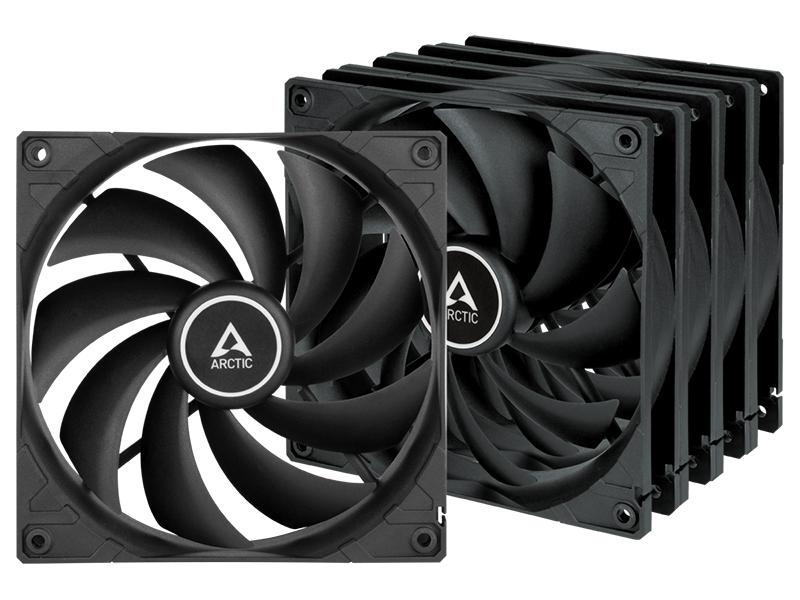 Вентилятор Arctic F14 Value Pack Black ACFAN00233A