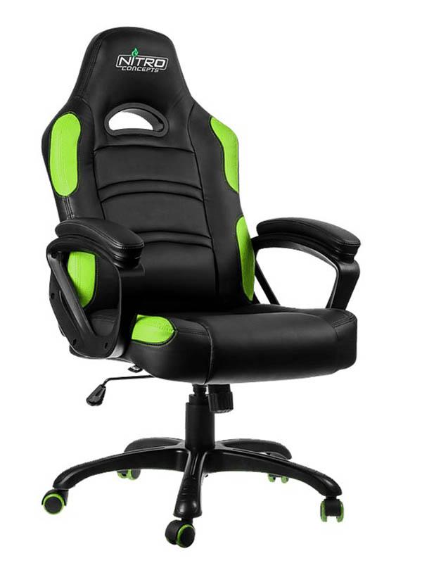 Компьютерное кресло GameMax GCR07 Green