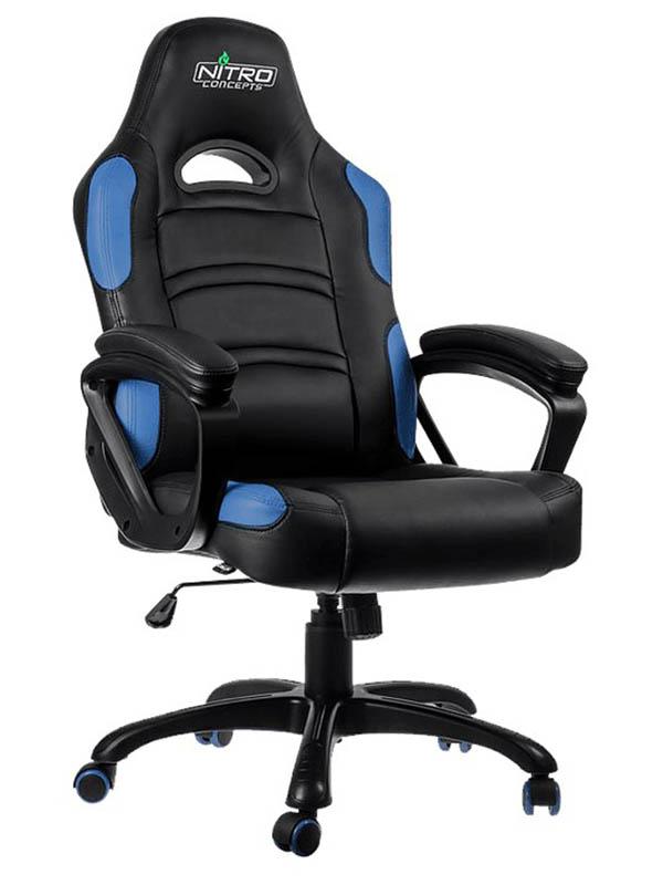 Компьютерное кресло GameMax GCR07 Blue