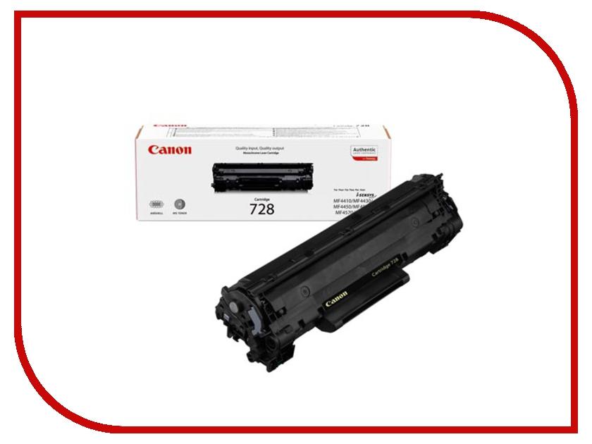 Картридж Canon 728 для MF4580dn 2100стр 3500B010