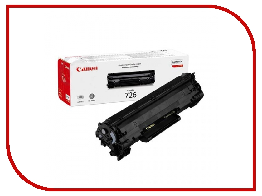 Картридж Canon 725 для LBP-6000/6000B 1600стр 3484B002 / 3484B005<br>