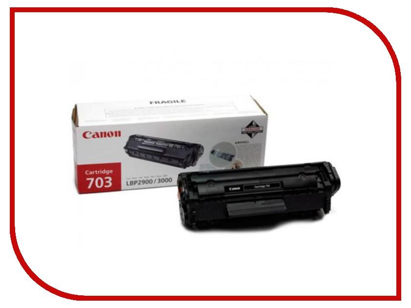Картридж Canon 703 для LBP-2900/3000/HP 7616A005 lbp 7018c canon