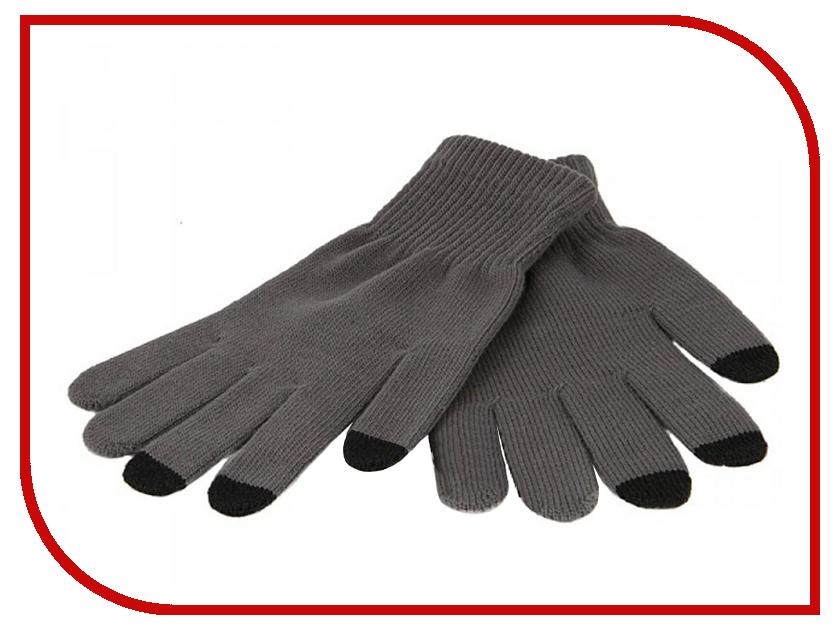 Теплые перчатки для сенсорных дисплеев iGlover Classic Light Grey