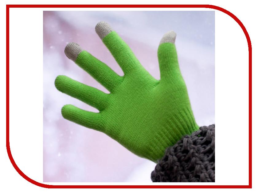 Теплые перчатки для сенсорных дисплеев iGlover Classic Green<br>