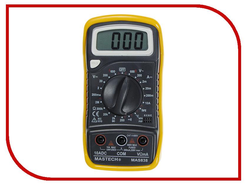 Мультиметр Mastech MAS838 мультиметр mastech ms8269