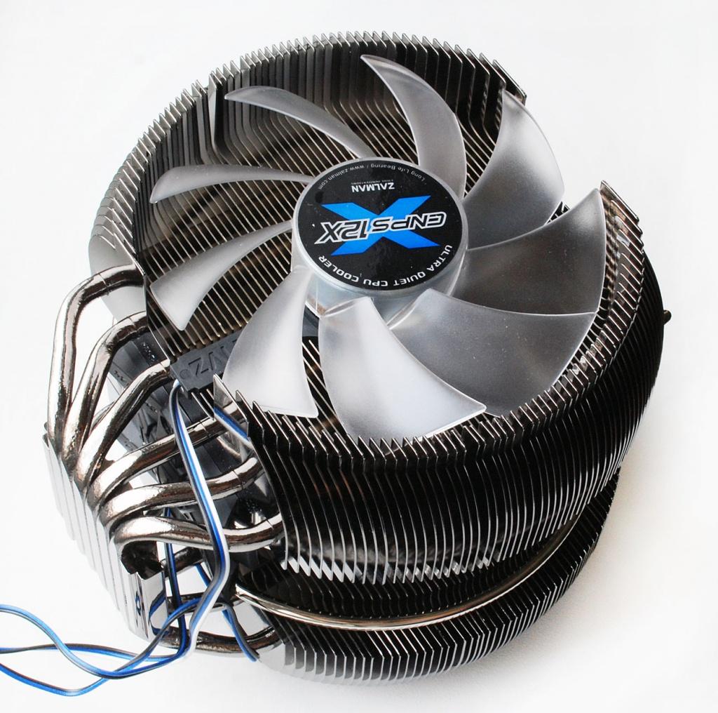 Кулер Zalman CNPS12X (Intel LGA1150/LGA1155/LGA1156/LGA1366/LGA2011/LGA775/AMD FM2/AM2+/AM2/AM3+/AM3/FM1)