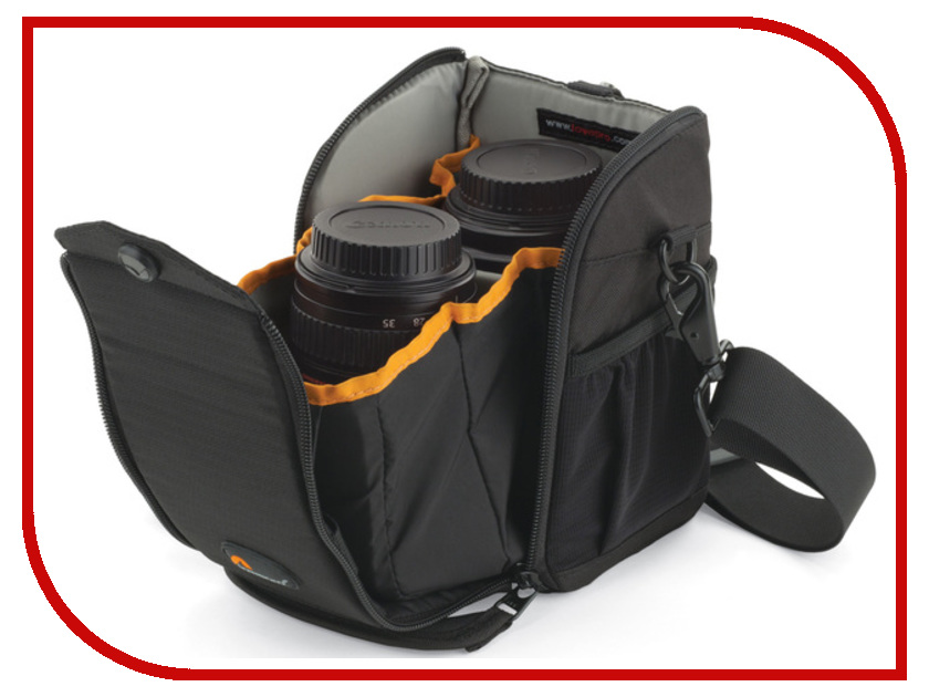Аксессуар LowePro S&F Lens Exchange Case 100 AW Black футляр lowepro s