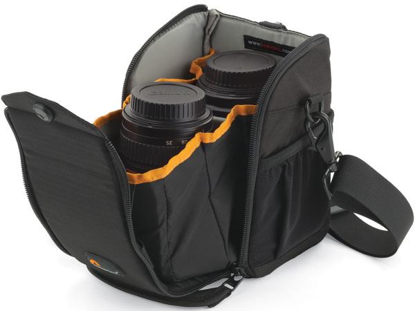 Аксессуар LowePro S&F Lens Exchange Case 100 AW Black LP36446-0WW