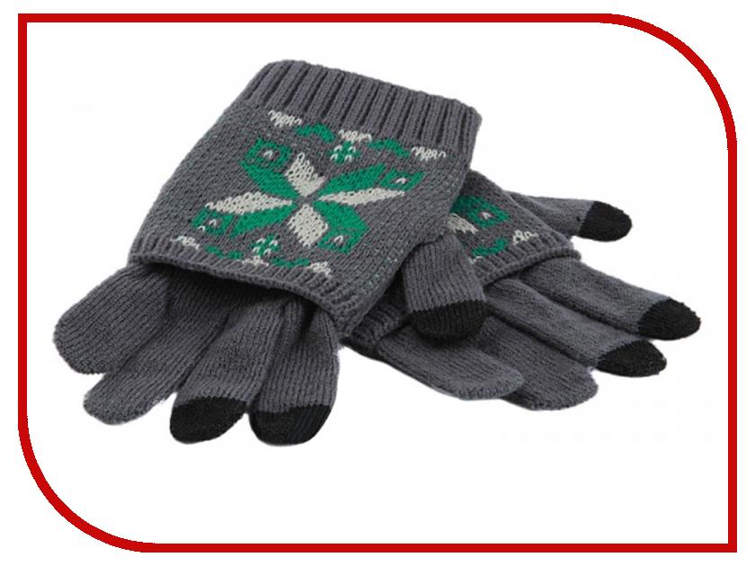 Теплые перчатки для сенсорных дисплеев Harsika J101-42.2 Grey<br>