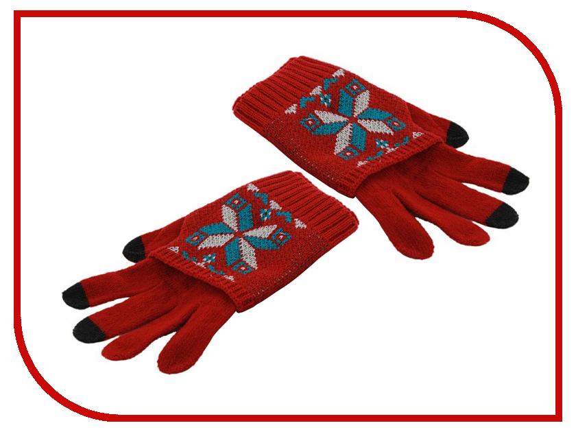 Теплые перчатки для сенсорных дисплеев Harsika J101-42.3 Red<br>