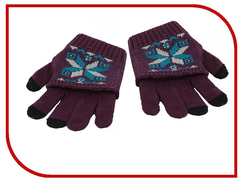 Теплые перчатки для сенсорных дисплеев Harsika 1113 / J101-42.4 Purple<br>