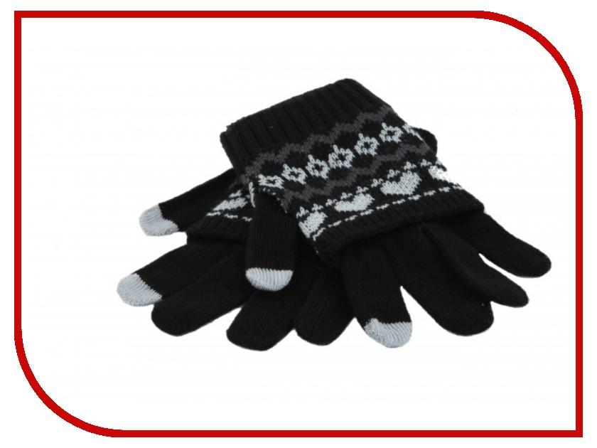 Теплые перчатки для сенсорных дисплеев Harsika J102-44.1 Black