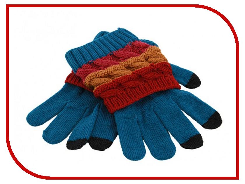 Теплые перчатки для сенсорных дисплеев Harsika J104-43.3 Blue-Green