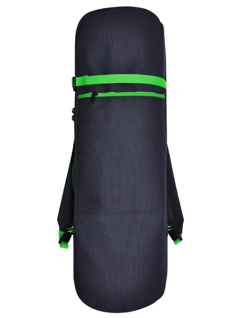 Чехол-рюкзак Skatebox 90cm Graphite-Green St4-90-green