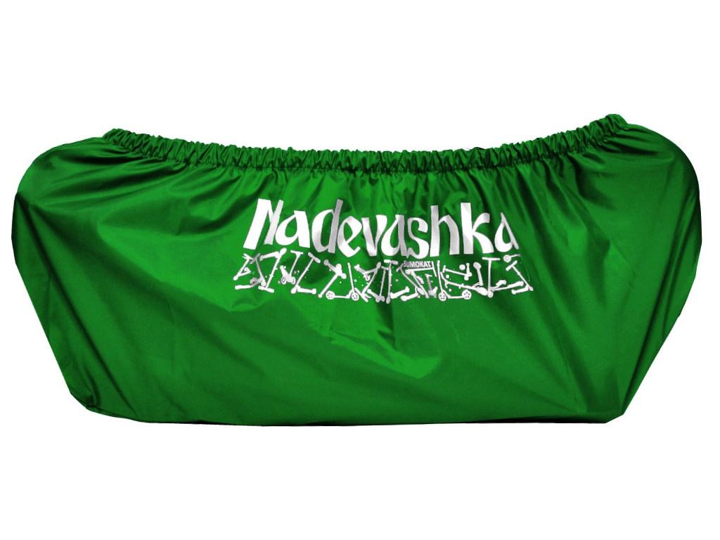 Чехол для самоката Skatebox Надевашка L Green nv1-L-green